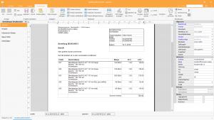 Ingenious Software Bestellungen Detailansicht Bestelldokument